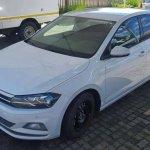 2017 VW Polo sixth-gen MQB version spied