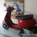 2017 Vespa SXL 150 BSIV at dealership side with rear