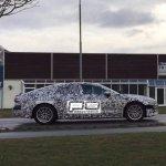 2018 Audi A7 profile spy shot Denmark