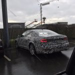2018 Audi A7 rear three quarters spy shot
