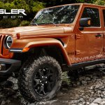 2018 Jeep Wrangler (4th gen) front three quarter rendering
