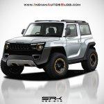 2020 Mahindra Thar Hard-Top concept front
