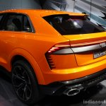 Audi Q8 Sport Concept rear end at the 2017 Geneva Motor Show Live