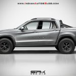 BMW X pickup rendering