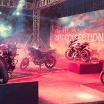 Bajaj Pulsar 2017 range at Pulsar Festival of Speed Hyderabad