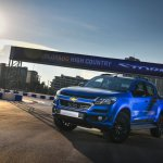 Chevrolet Colorado High Country STORM front rhree quarters