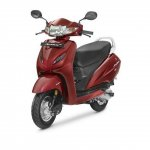 Honda Activa 4G front three quarter