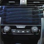 Honda Civic Hatchback center console at the BIMS 2017