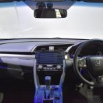 Honda Civic Hatchback interior at the BIMS 2017