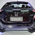 Honda Civic Hatchback rear at the BIMS 2017