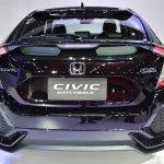 Honda Civic Hatchback rear at the BIMS 2017