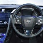 Honda Civic Hatchback steering wheel at the BIMS 2017