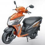 Honda Dio BSIV studio orange