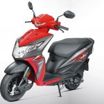 Honda Dio BSIV studio red