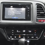 Honda HR-V center console showcased at the BIMS 2017
