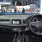 Honda HR-V dashboard showcased at the BIMS 2017