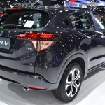 Honda HR-V rear quarter showcased at the BIMS 2017
