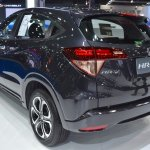 Honda HR-V rear three quarter showcased at the BIMS 2017
