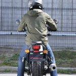 Honda Rebel 250 rear at Osaka Motorcycle Show