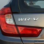 Honda WR-V badge First Drive Review