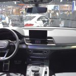 India-bound 2017 Audi Q5 dashboard at the BIMS 2017