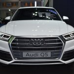 India-bound 2017 Audi Q5 front at the BIMS 2017
