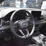 India-bound 2017 Audi Q5 interior at the BIMS 2017