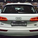 India-bound 2017 Audi Q5 rear at the BIMS 2017