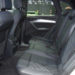 India-bound 2017 Audi Q5 rear cabin at the BIMS 2017