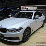 India-bound 2017 BMW 5 Series front three quarter at the 2017 Geneva Motor Show Live