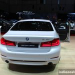 India-bound 2017 BMW 5 Series rear at the 2017 Geneva Motor Show Live