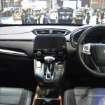 India-bound 2017 Honda CR-V 7-seater dashboard at the BIMS 2017