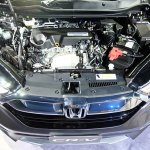 India-bound 2017 Honda CR-V 7-seater engine bay