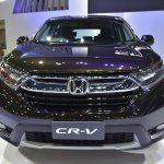 India-bound 2017 Honda CR-V 7-seater front at the BIMS 2017