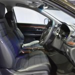 India-bound 2017 Honda CR-V 7-seater front cabin at the BIMS 2017
