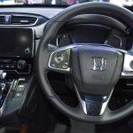 India-bound 2017 Honda CR-V 7-seater interior at the BIMS 2017