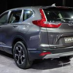 India-bound 2017 Honda CR-V 7-seater rear quarter