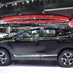India-bound 2017 Honda CR-V 7-seater side at the BIMS 2017