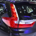 India-bound 2017 Honda CR-V 7-seater taillamp at the BIMS 2017