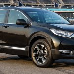 India-bound 2017 Honda CR-V front three quarter