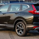 India-bound 2017 Honda CR-V rear three quarter