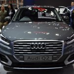 India-bound Audi Q2 front at the BIMS 2017