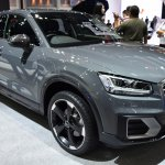 India-bound Audi Q2 front three quarter at the BIMS 2017