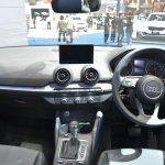 India-bound Audi Q2 interior at the BIMS 2017