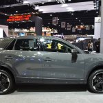 India-bound Audi Q2 side at the BIMS 2017