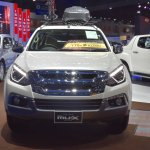India-bound Isuzu MU-X front at the BIMS 2017