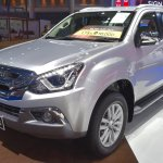 India-bound Isuzu MU-X front quarter at the BIMS 2017