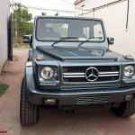 India's first Force Gurkha to Mercedes G Wagen conversion front