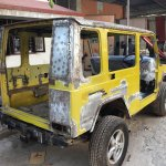 India's first Force Gurkha to Mercedes G Wagen conversion rear-end