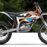 KTM E-SX side